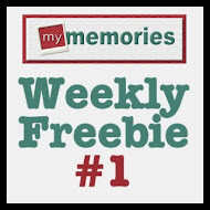 My Memories Weekly Freebie 1