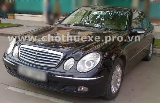 Cho thuê xe Mercedes E240 hạng sang