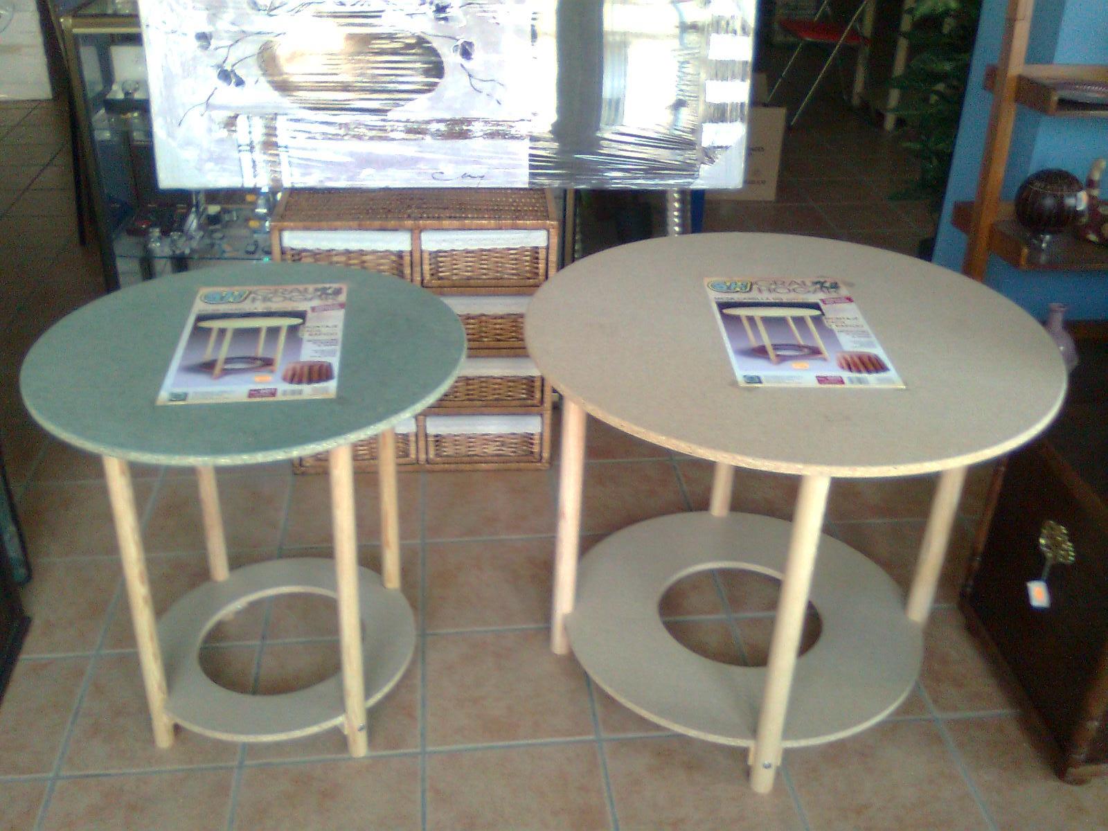 Mesa de camilla y ropa camilla sill n sof cheslong - Mesa camilla redonda ...