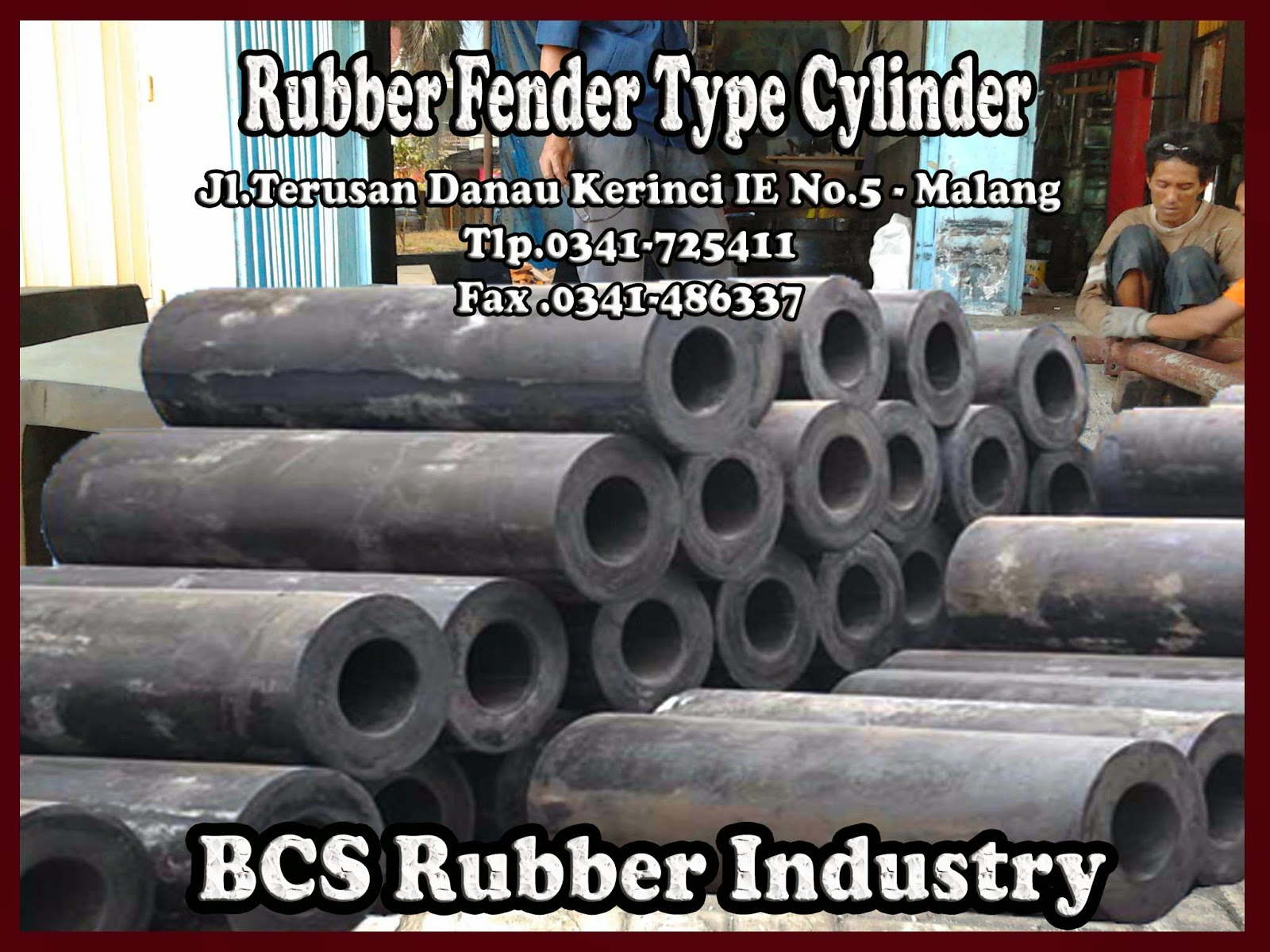 Rubber Fender Type Cylinder