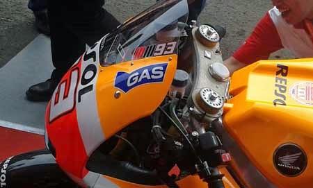 headlamp Honda RC213V