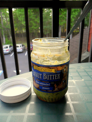 Peanut Butter Oatmeal Cookie Dough Overnight Oats (gone green!) from Hungry Gator Gal