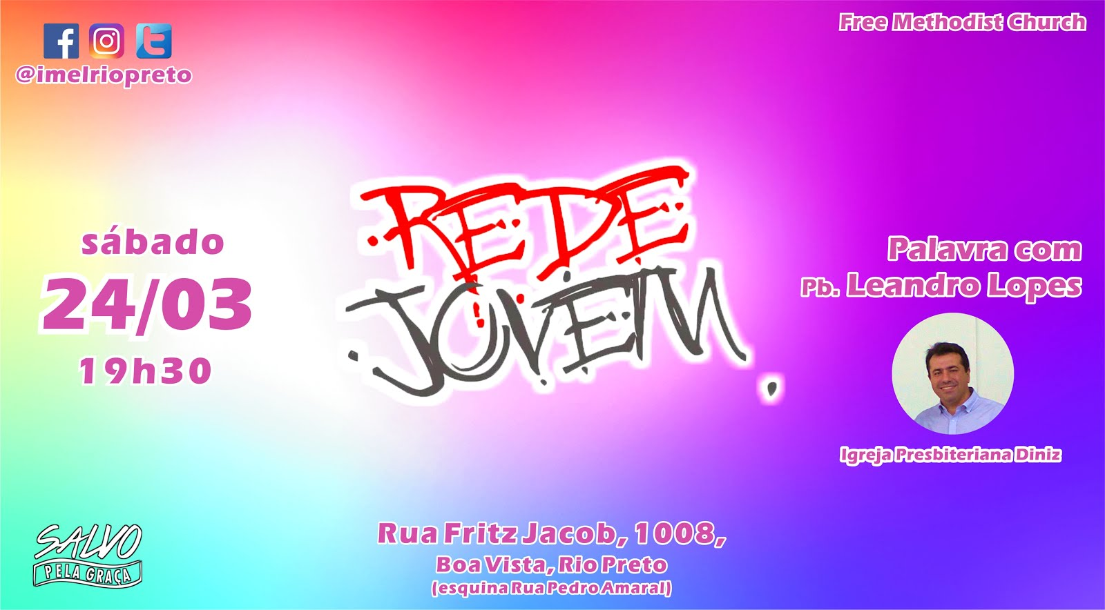 Rede Jovem - 24/03/18 - Leandro Lopes