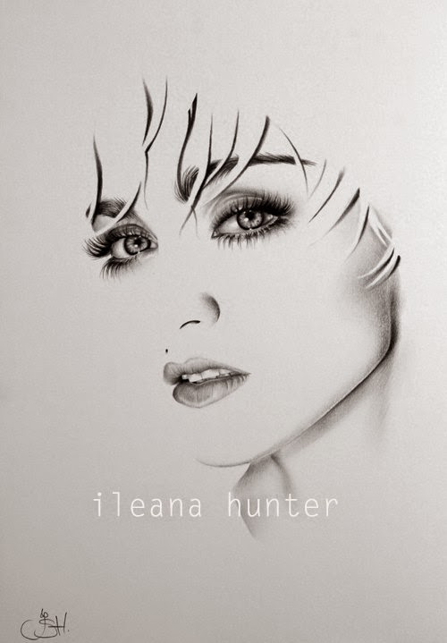 11-Madonna-Ileana-Hunter-Recognise-Portrait-Drawings-Detail-www-designstack-co