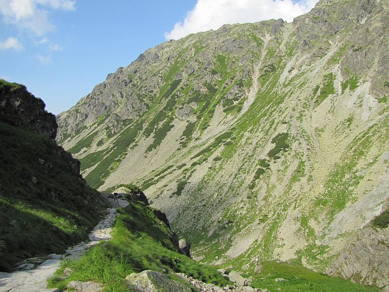 Szlak do Doliny Gąsienicowej.