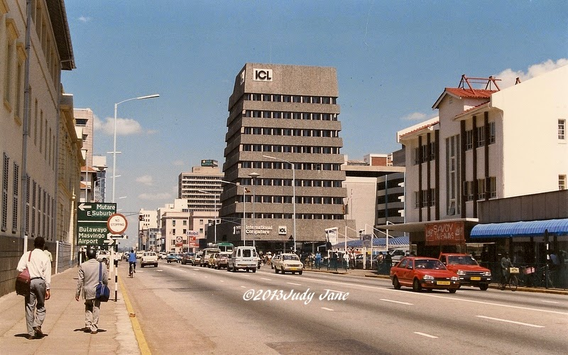 ICL building, Harare