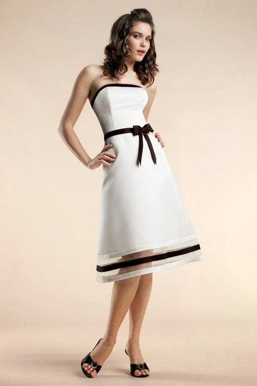 Gorgeous Black And White Party Dress