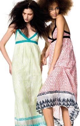 vestidos largos mujer verano 2012