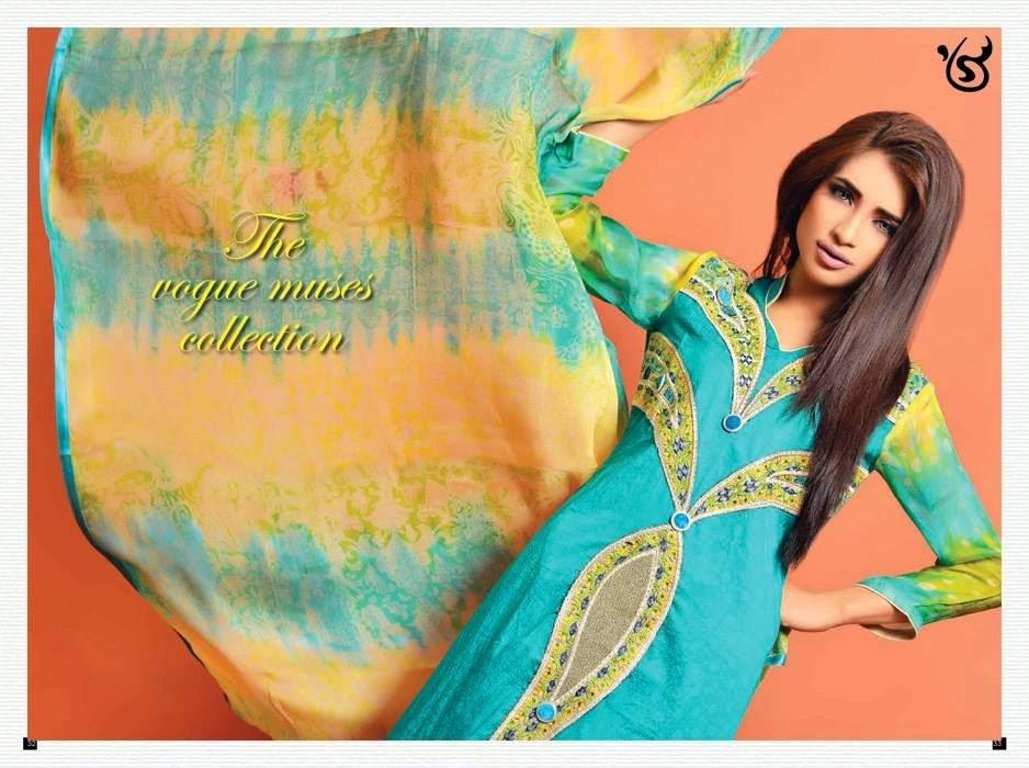 SalamsTextileSummerLawn2014 wwwfashionhuntworldblogspotcom 003 - Salam's Textile Spring-Summer Lawn Collection 2014