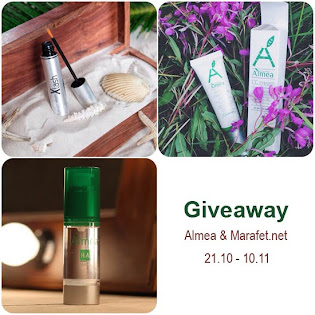 Giveaway от Almea: Xlash, H. A. Serum, CC cream