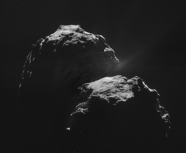 26 Fotos en HQ de Rosetta y Philae