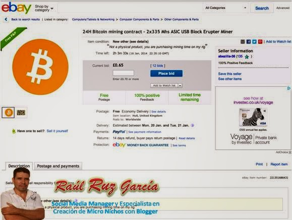 entraría este 10 de febrero el bitcoin al ebay