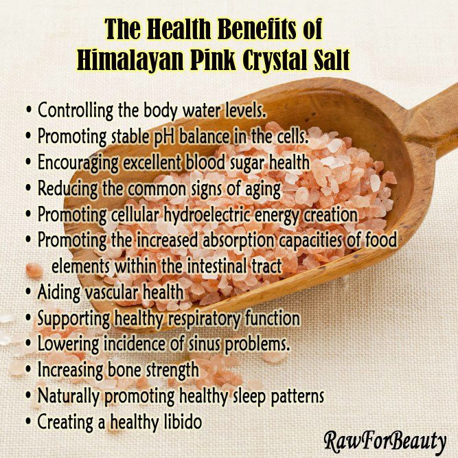 crystal salt