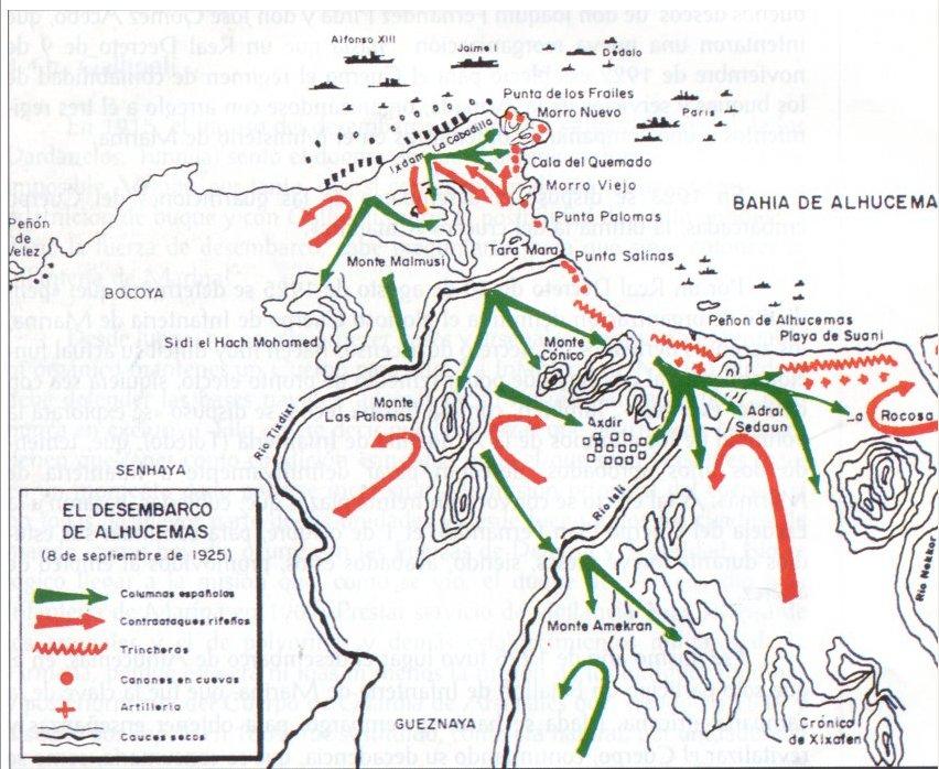 Alhucemas mapa