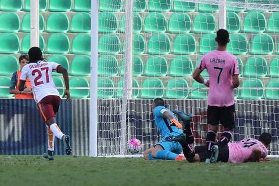 Palermo 2 x 4 Roma - Campeonato Italiano(Calcio) 2015/16