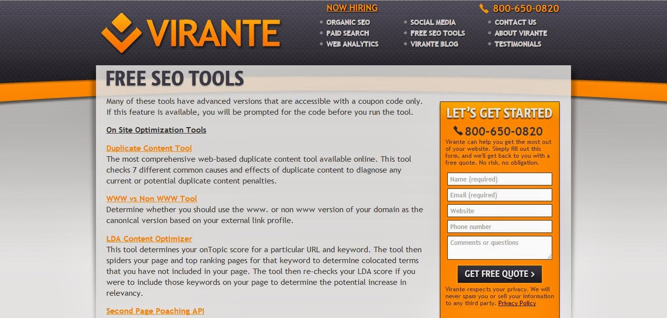 Best top free tools Help SEO To accomplish it's Job Part 7