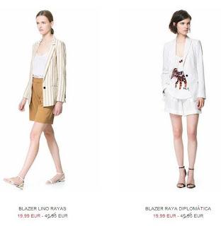 blazer de moda zara 2013