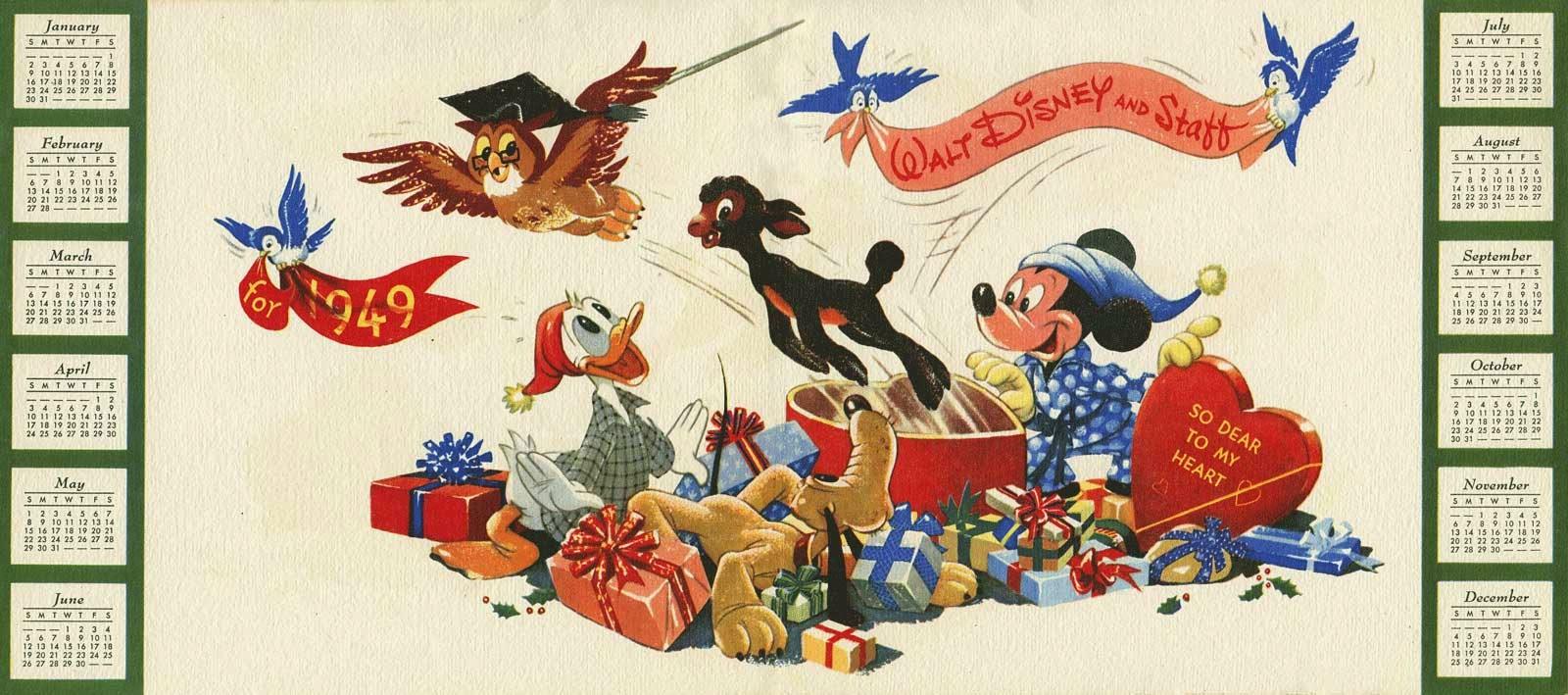 vintage date Disney