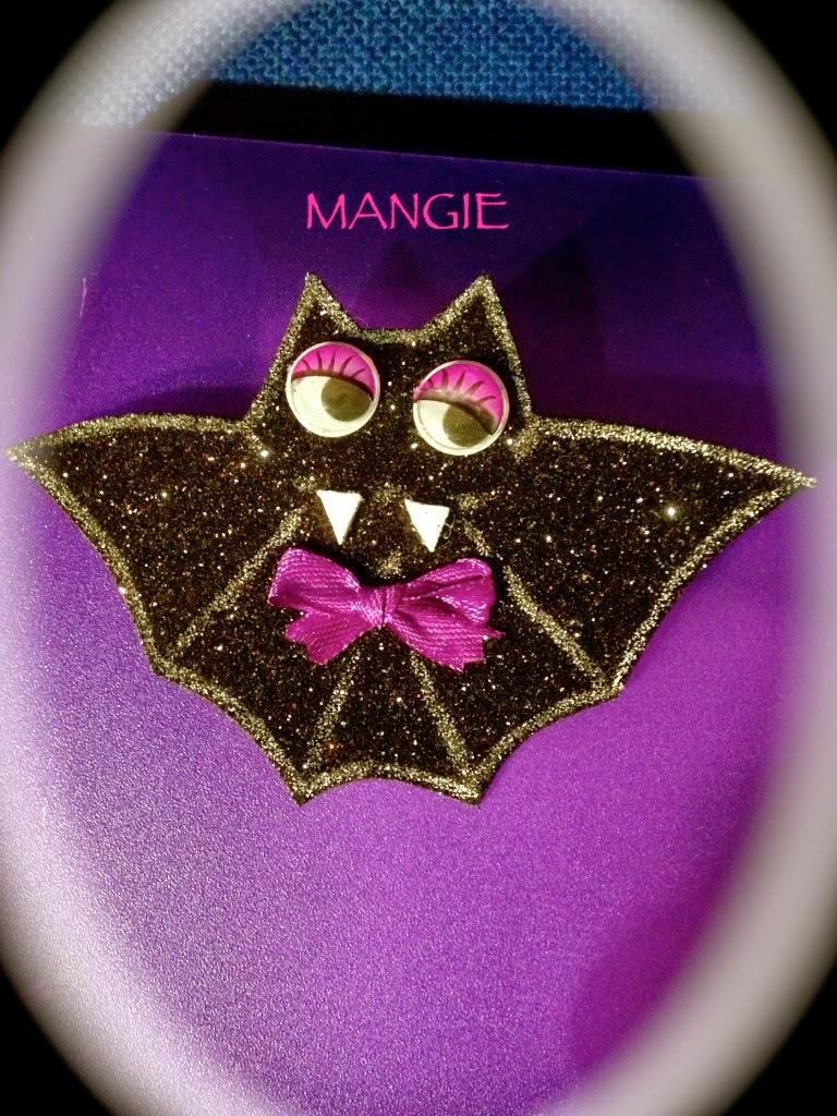 Broche murciélago