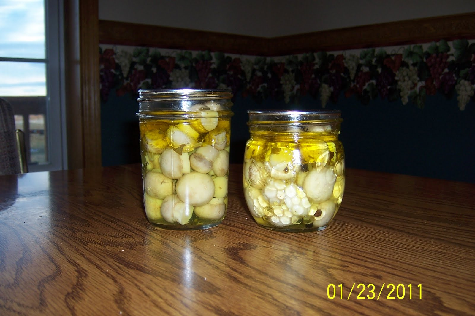 Marinated mushrooms for Canning