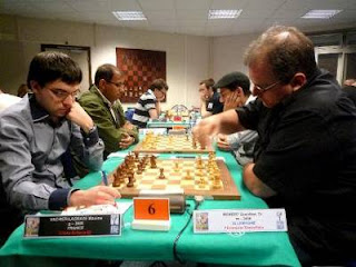 Guenther Beikert (2436) 0-1 Maxime Vachier-Lagrave (2680) - Photo © FFE
