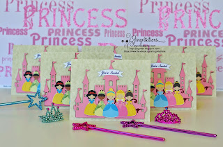 Princess Tiana, Snow_White, Belle, Sleeping_Beauty, Cinderella Castle Birthday Invitaciones Convites