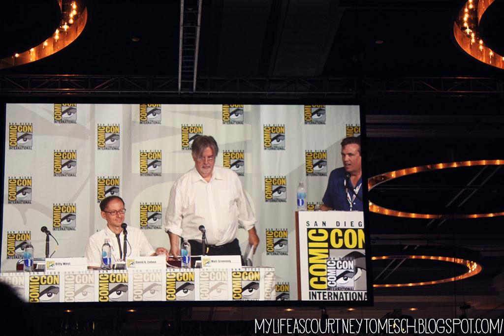 San Diego Comic Con 2013 Futurama