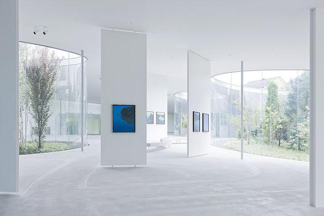 Photo of Hiroshi Senju museum interiors