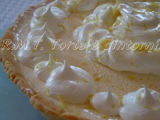 una delizia di limone e meringhe: il lemon pie di mamma mecha