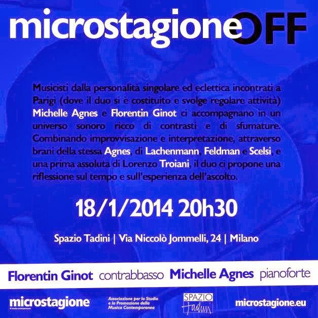 musica a Milano: Microstagione 2014