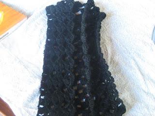 Crochet Lacy Bolero