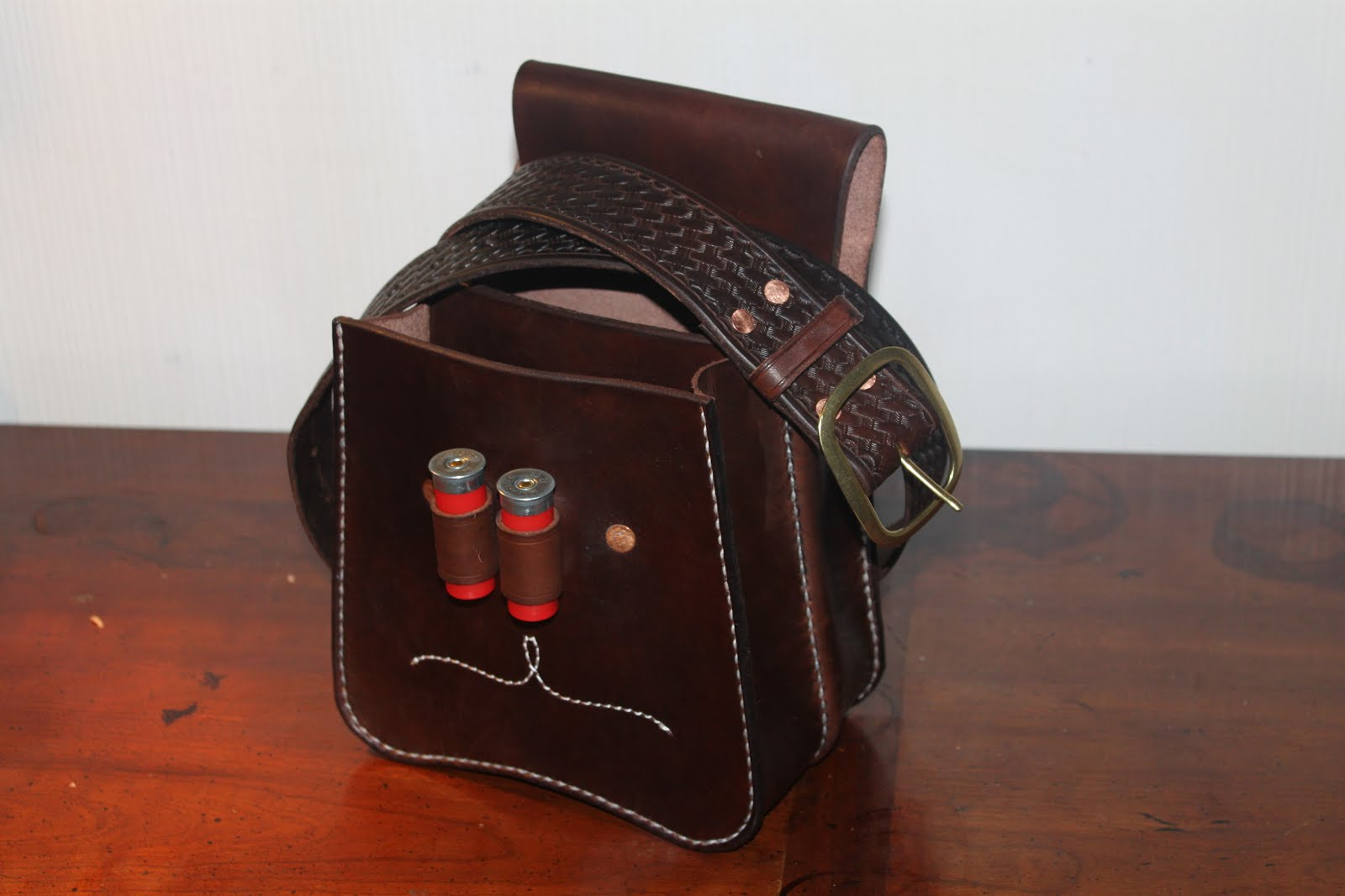 lost river leather shotgun shell bags