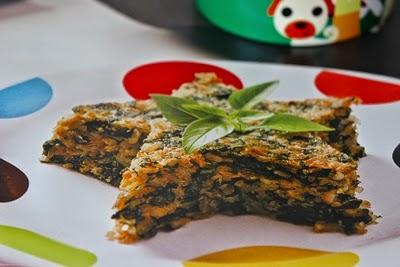 Receita de arroz integral ao forno com espinafre
