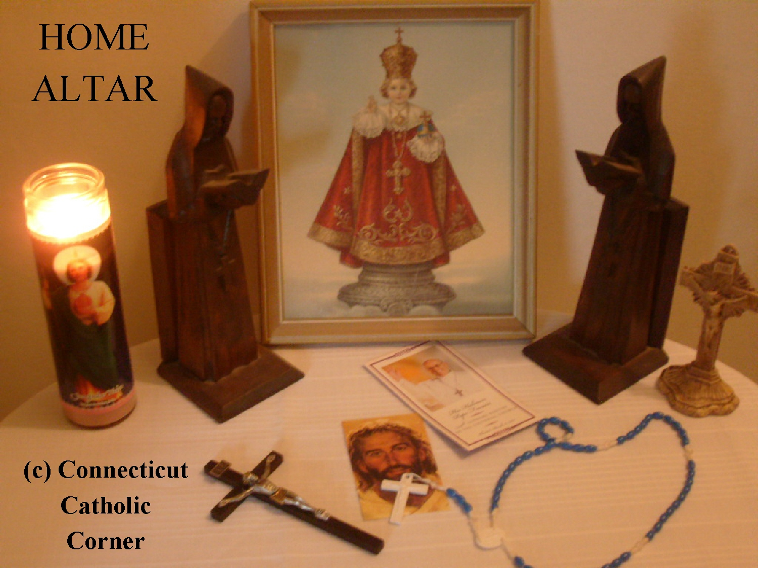 Simple Catholic Home Altar Designs