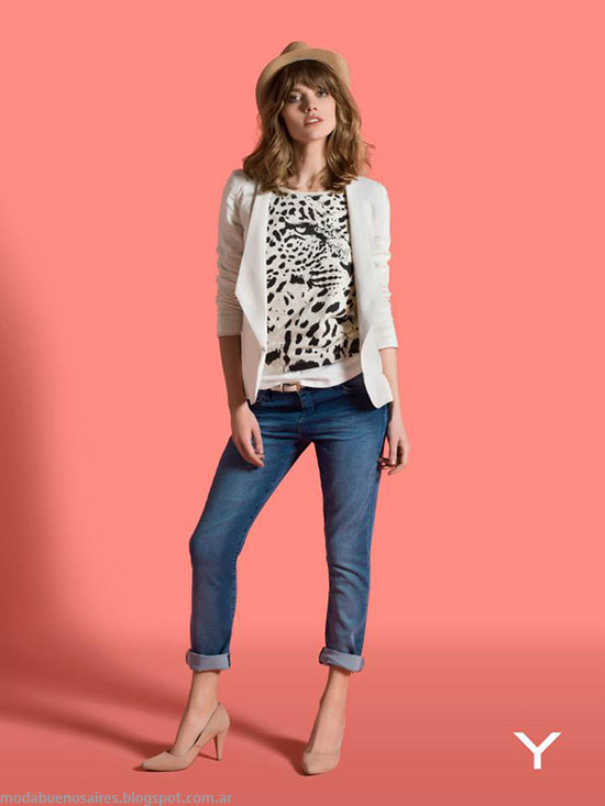 Yagmour primavera verano 2015 moda mujer.
