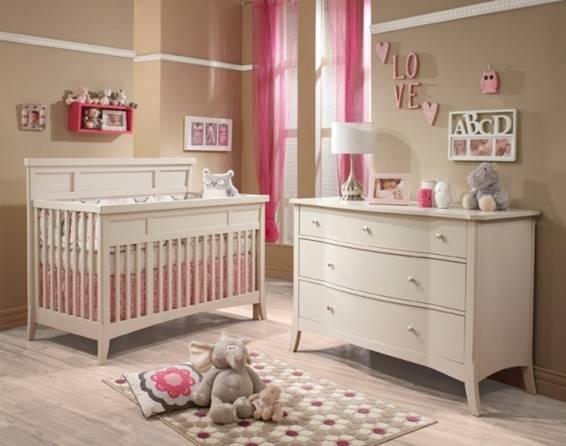 Cuartos de beb rosa imagui - Habitacion marron ...