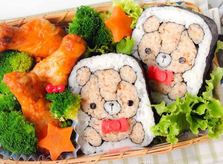 Divertidas e criativas artes feitas com Sushi