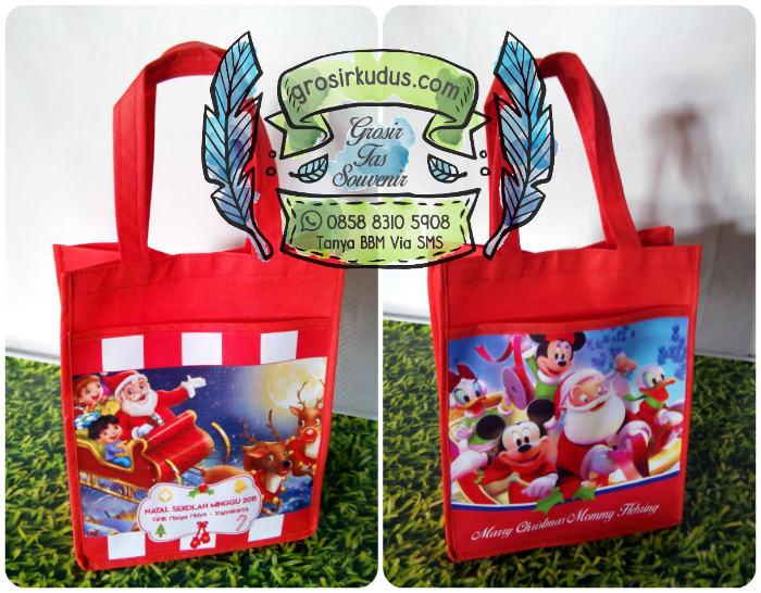 Tas Natal Sekolah Minggu Jakarta / Tas Bingkisan Natal Anak Jakarta