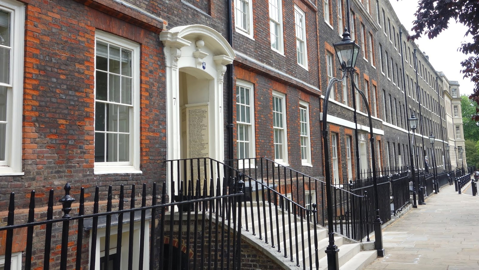 Kings Bench Walk The Honourable Society Of Inner Temple Central London