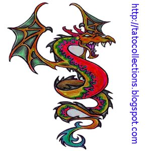 Dragon fire Tattoo
