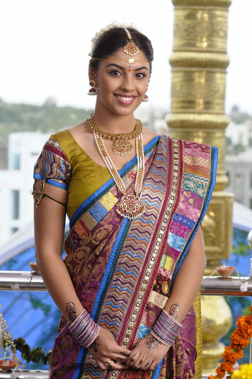 Richa Gangopadhyay  - Richa Gangopadhyay in Trdiotional South Indian Wear