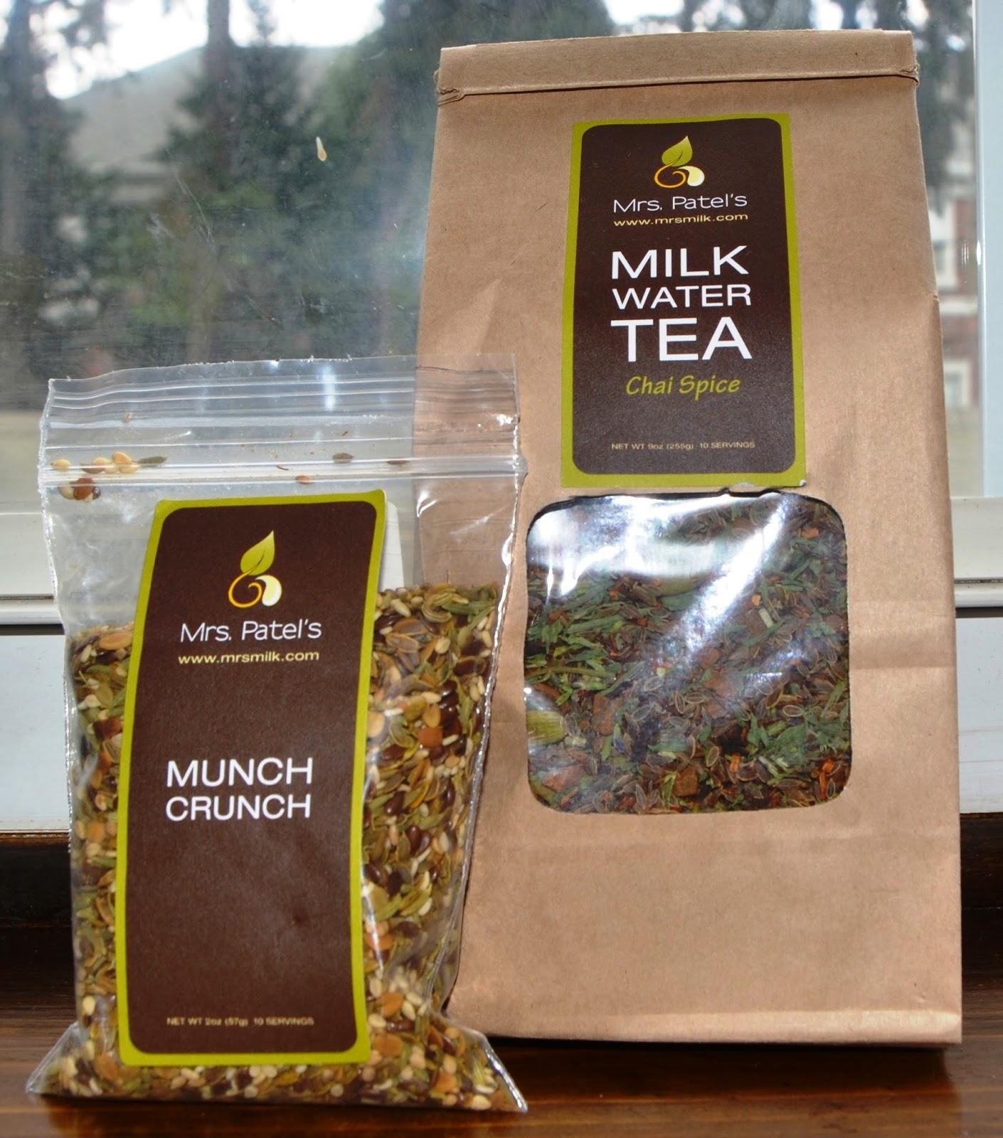 Mrs. Patel's Milk Boosting products