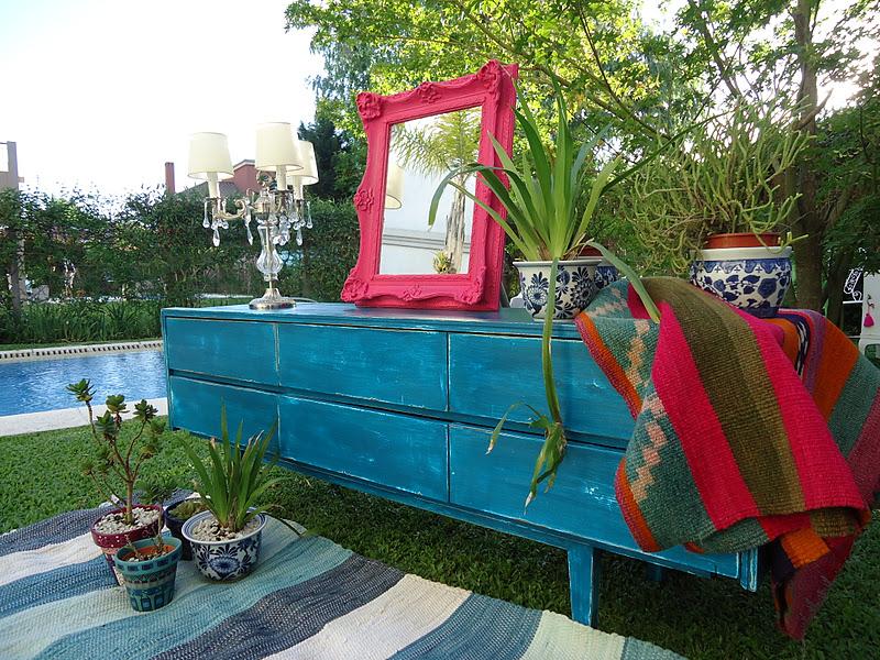Vintouch muebles reciclados pintados a mano mueble for Muebles vintage segunda mano