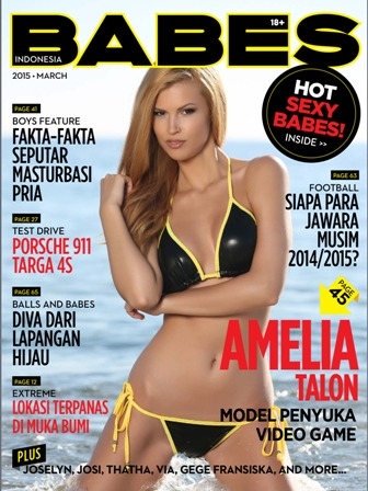 Download Majalah BABES Magazine Edisi  03 / Maret 2015 - Featuring : Joselyn, Josi, Thata, Via, gege Fransiska, Amelia | www.insight-zone.com