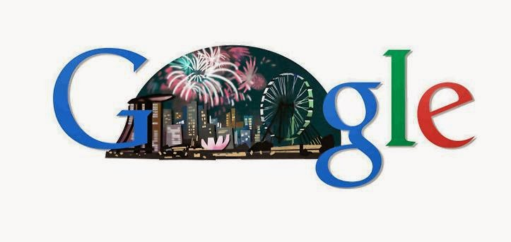 Google Doodle On Singapore National Day 2014