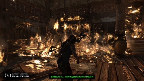 Tomb Raider PC Screenshot Gameplay 1 Tomb Raider Black Box