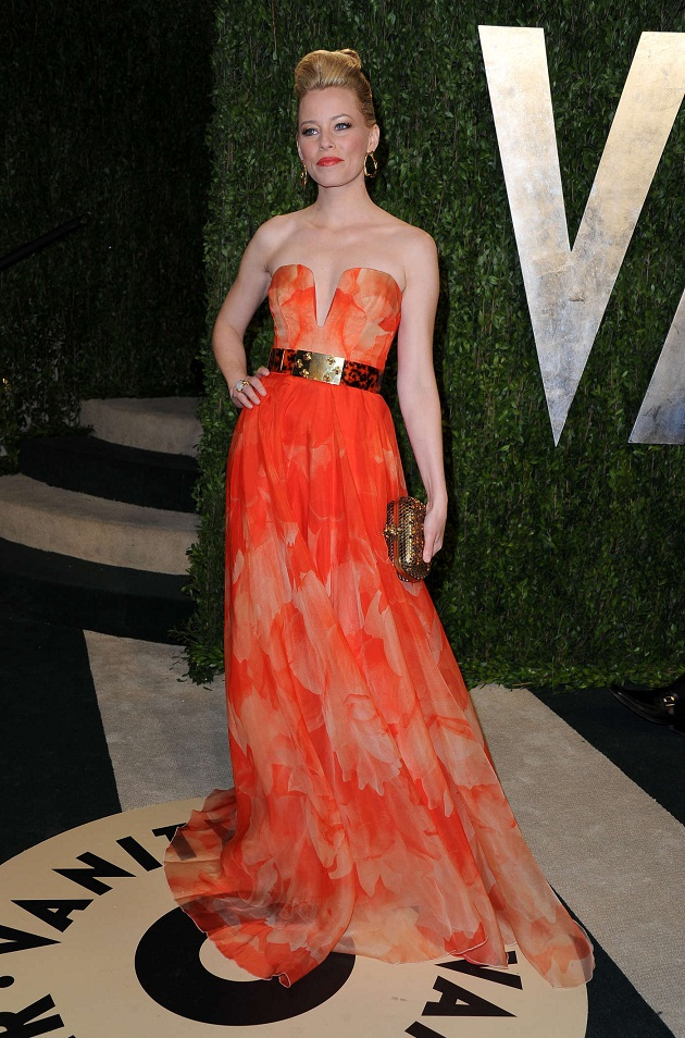 Oscar 2013 - Vanity Fair Party Celebrity Dresses in West Hollywood