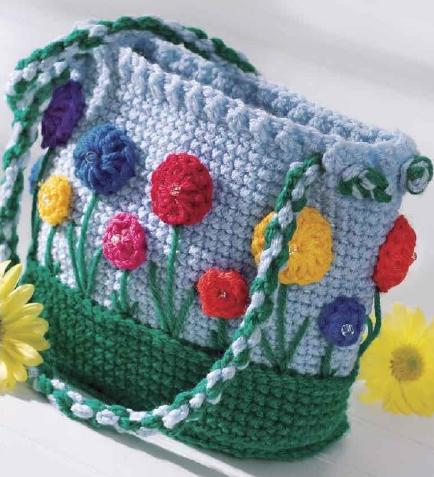 crochet patterns for purses and bags