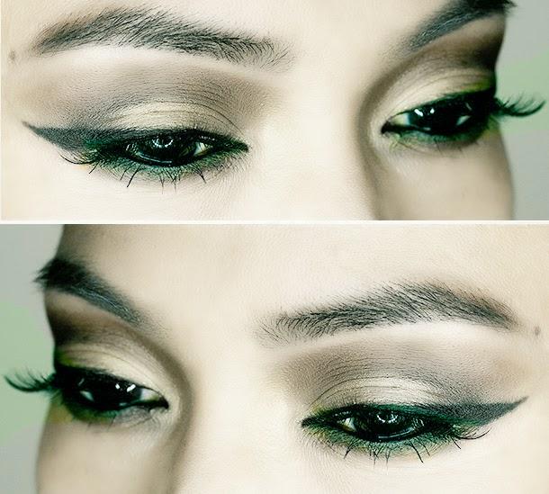 Angelina Jolie's Maleficent Eye Lashes