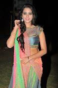 Manasa Glamorous Photos in Half saree-thumbnail-5